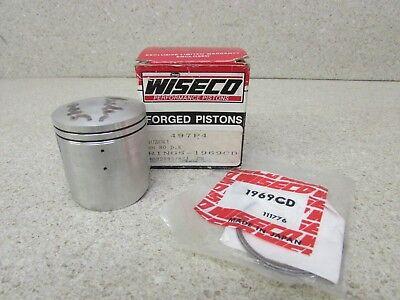 for Suzuki DR350 1990-1999 Wiseco Piston Kit .040 80 mm