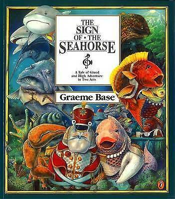 1 of 1 - The SIGN OF THE SEAHORSE BY GRAEME BASE. PAPERBACK PUBLISHED BY PUFFIN 1996