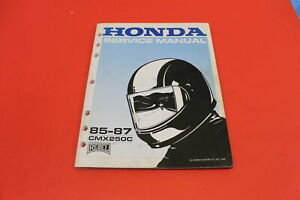 OEM-Honda-1985-1987-CMX250-CMX250C-Rebel-Factory-Service-Manual-61KR302