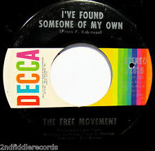 THE FREE MOVEMENT-I've Found Someone Of My Own-Northern Soul 45-DECCA #32818