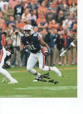 Autographs-original Football Dashing Darius Slayton Auburn Tigers Signed 8x10 Photo W/coa #2