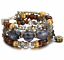 Boho-Multilayer-Natural-Stone-Bead-Tassel-Pendant-Chain-Bracelet-Charm-Women-Set thumbnail 28