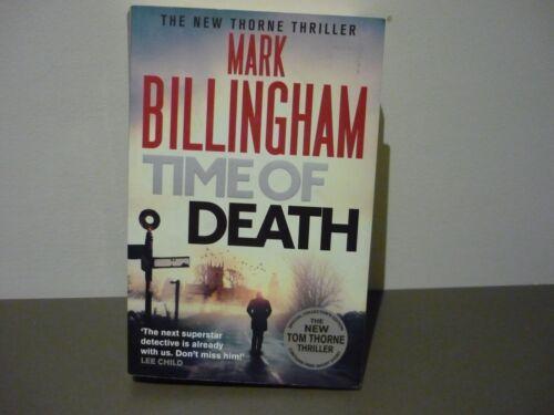 1 of 1 - MARK BILLINGHAM THRILLER - TIME OF DEATH - BUY ALL HIS BKS & COMBINE POSTAGE