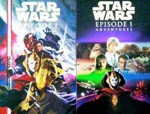 STAR WARS- The Phantom Menace & Ep 1 Adventures (Graphic Novel TPB Set + Gift)