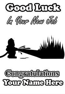 Good luck in your new job fireman greeting card code4 5060003830238 image is loading good luck in your new job fireman greeting m4hsunfo