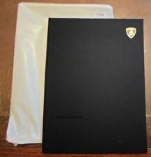 LAMBORGHINI GALLARDO c2005 UK Mkt Large Format VIP HARDBACK Prestige Brochure