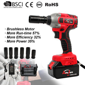 Cordless-Electric-Impact-Wrench-Brushless-Rattle-Gun-Sockets-Torque-1-2-039-039-chuck