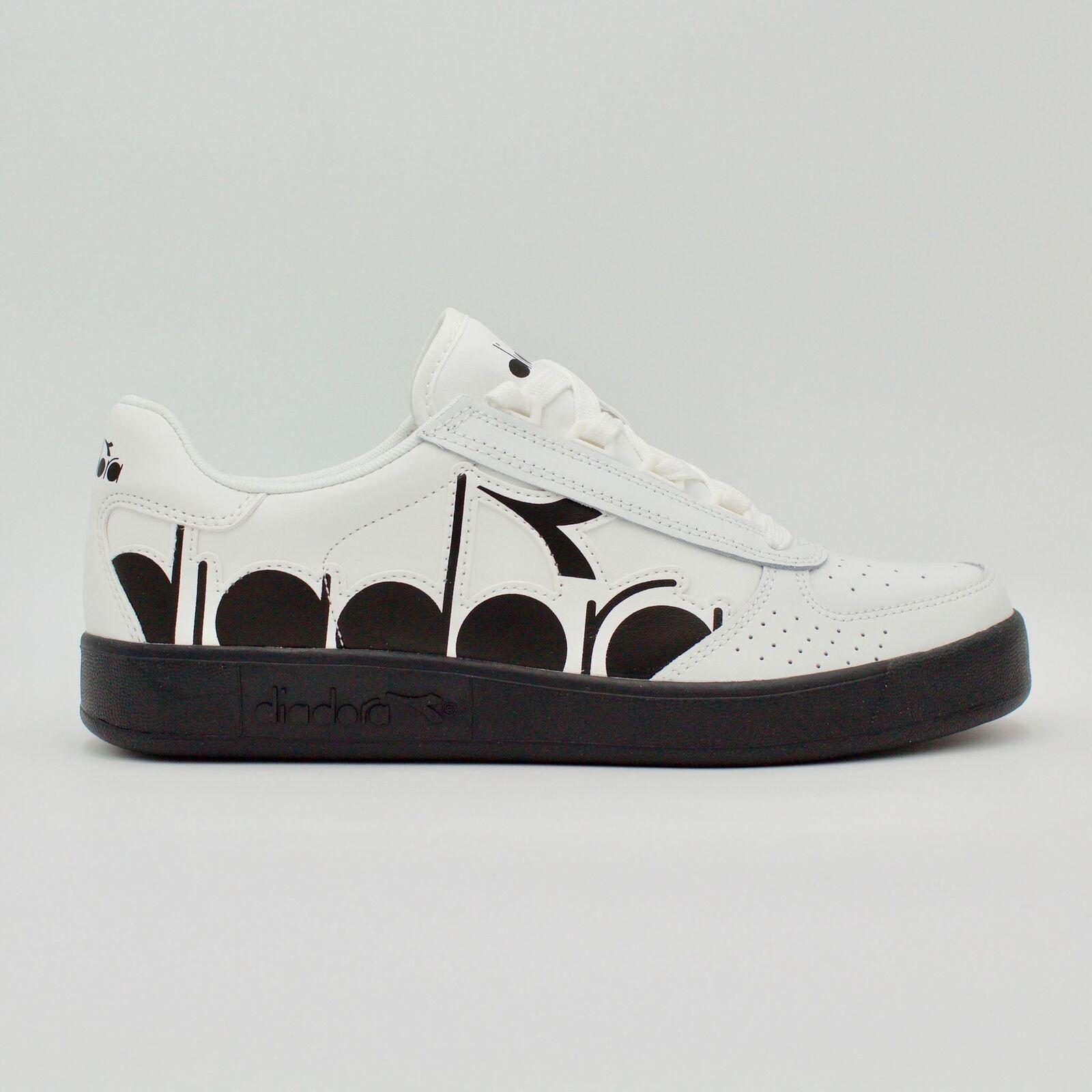 Diadora B.Elite Bolder White black logo men sneakers logo side new