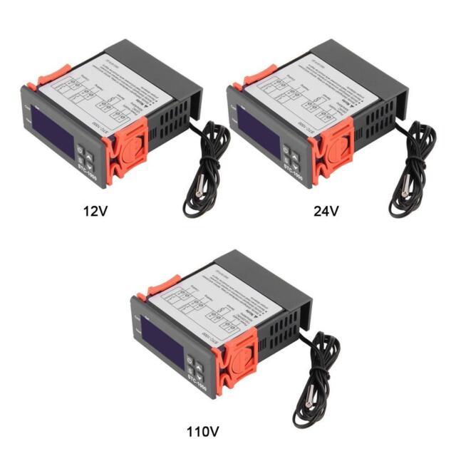 12V/24V/110V-220V STC-1000 Digital Temperature Controller Thermostat w/Sensor