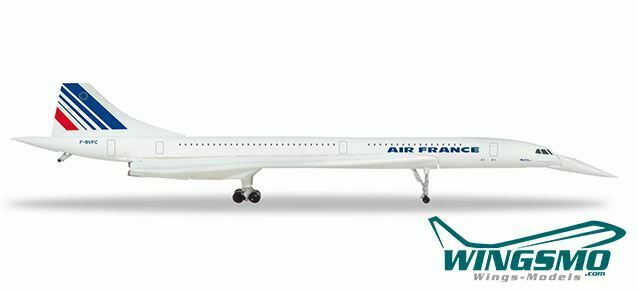 Herpa Wings Air France Concorde - nose down position 532839