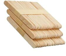50x Ice Cream Cake Diy Handicraft Wooden Stick Original Timber