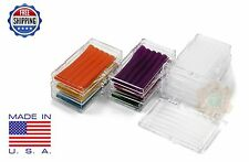 10 Pack Orthodontic WAX BRACES Irritation ASSORTED COLORS & SCENTS Dental