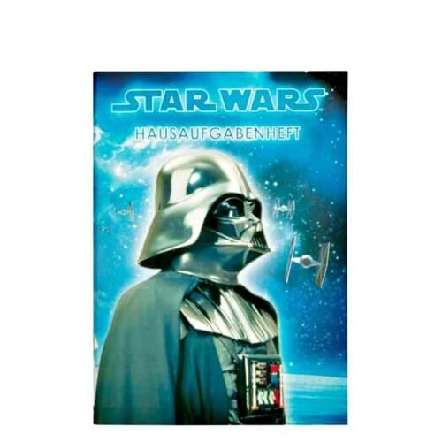 Star Wars Darth Vader Hausaufgabenheft Aufgabenheft Kalender Planer Heft DIN A5
