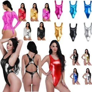 dc96814fa2 High Cut Sexy One Piece Bikini Thong Swimsuit Monokini Swimwear ...