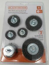 Black Decker B//DX36005 Wire Wheel Shank-parent