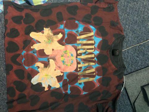 Nirvana Heart Shaped Box Shirt vintage 1993 size x