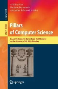 Pillars Of Computer Science Essays Dedicated To Boris Boaz  Image Is Loading Pillarsofcomputerscienceessaysdedicatedtoboris