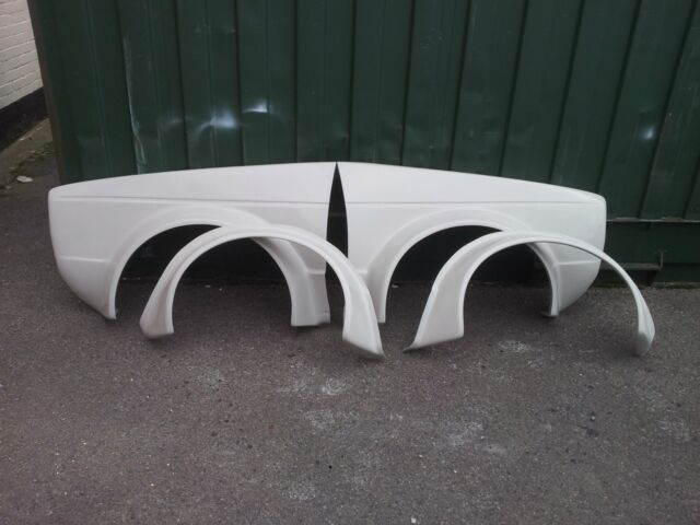NEW VW GOLF MK1 WIDE BERG CUP WINGS WITH ARCHES, N/S & O/F AND WIDE REAR ARCHES
