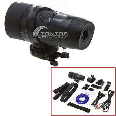 Action Camera Video Recorder Waterproof Outdoor Sports Helmet Camcorder Black