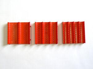 Muldenteile rot - Schubladeneinsatz - Einteilungsmaterial - Kompaktmulden
