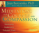 Meditations for Courage and Compassion: Developing Resilience in Turbulent Times by Joan Borysenko (CD-Audio, 2010)