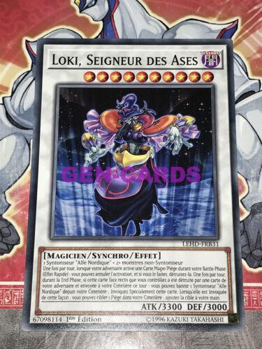 Carte YU GI OH LOKI SEIGNEUR DES ASES LEHD-FRB31