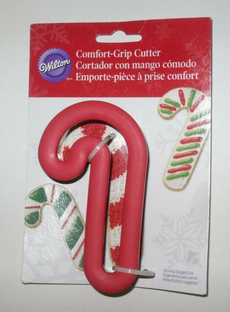 Wilton Comfort Grip Candy Cane Christmas Cookie Cutter