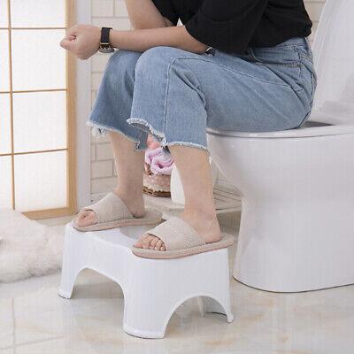 1pcs Toilet Squatty Step Stool Bathroom Potty Squat Aid For