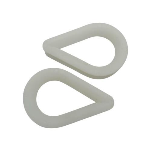 x2 20MM Nylon Rope Thimbles Soft Slicing Loop Anchor Line Mooring