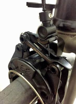 Ti Parts Workshop Brompton Bicycle Aluminum Adapter for eeBrake Brake Caliper EE