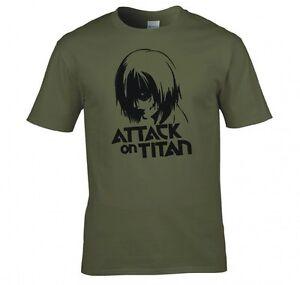 ATTACK-ON-TITAN-ANIME-034-Annie-Leonhart-034-Camiseta-Nueva