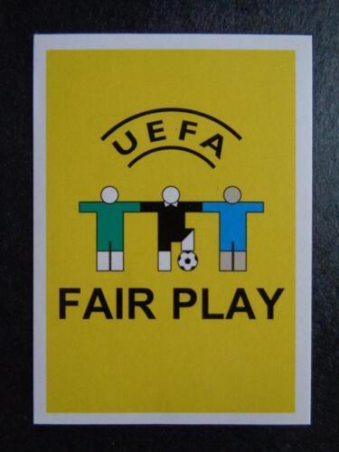 Panini Euro 2008 UEFA Fair Play introduction #2