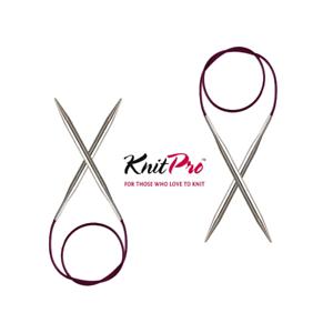 Nova Metal Fixed Circular Knitting Needle 8mm x 100cm KnitPro KP11359