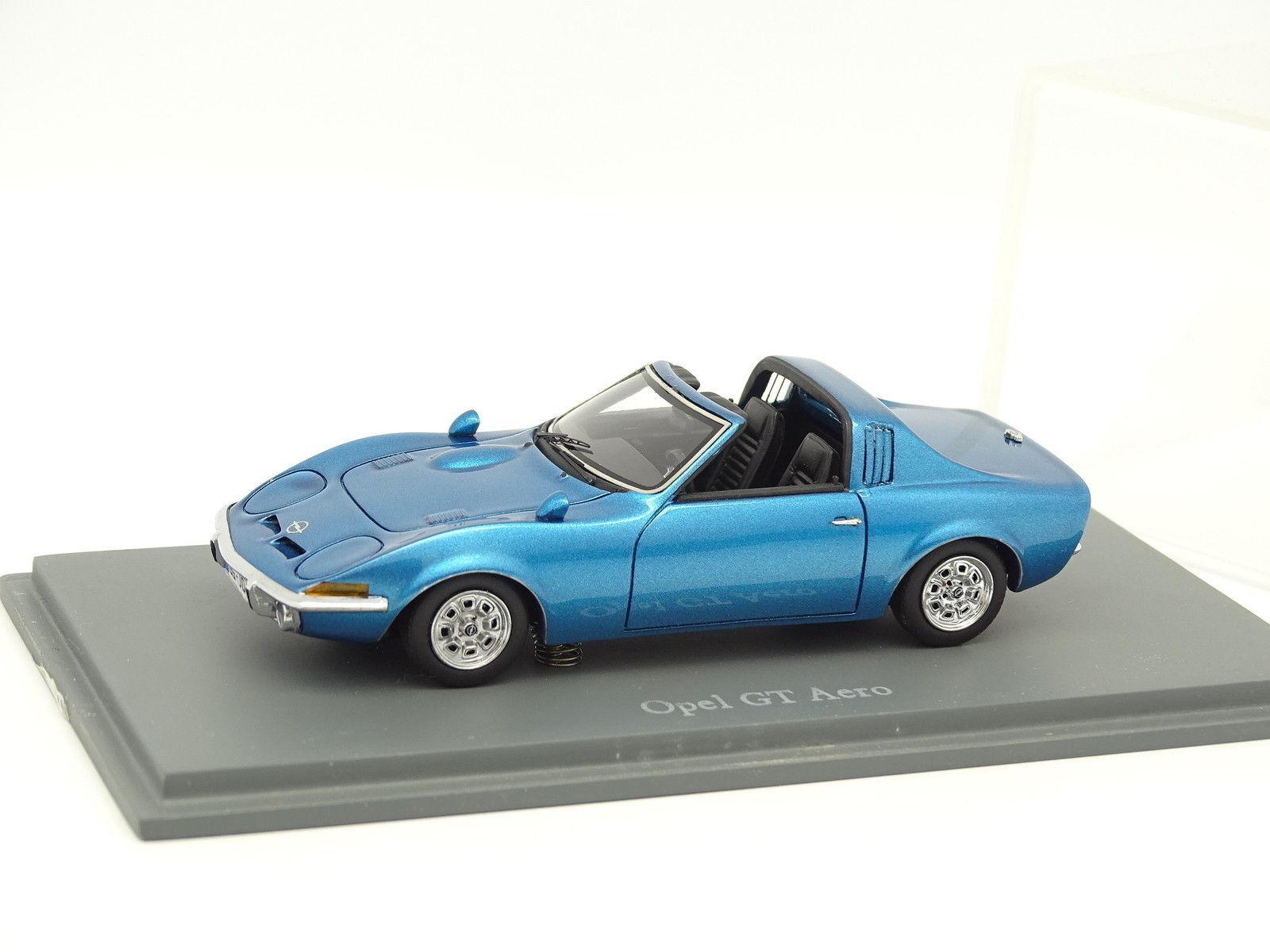 Neo 1 43 43 43 - Opel GT Aero bluee 140d80