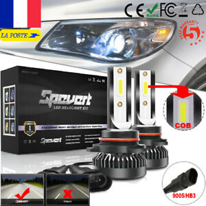 2X-Ampoule-9005-HB3-Mini-LED-Voiture-Lampe-Kit-Phare-Feux-110W-20000LM-6000K