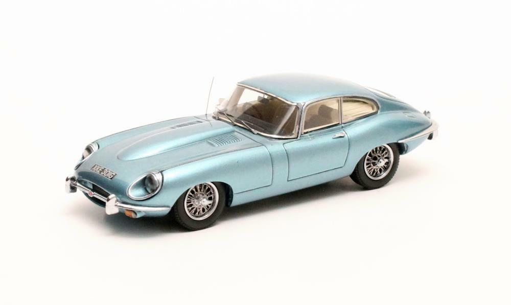 Jaguar E-type SII Coupé  bluee Metallic  1970 (Matrix 1 43   MX11001-051)
