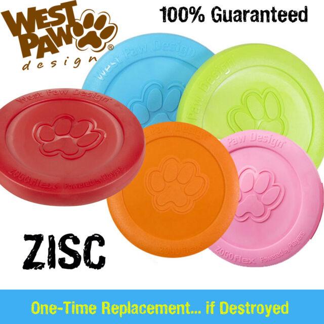 Zisc Dog/Puppy Dog Frisbee -INDESTRUCTIBLE DOG Toy - Replaced if Destroyed