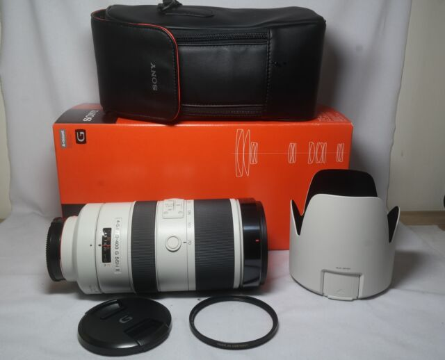 Sony SAL 70-400mm F/4-5.6G II SSM Lens SAL70400G2 Sony A mount