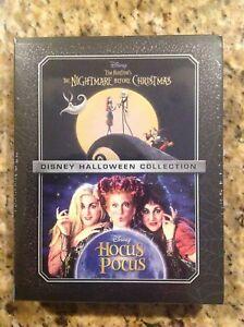 Disney THE NIGHTMARE BEFORE CHRISTMAS & HOCUS POCUS (Blu-ray/DVD/Digital)NEW 786936860214