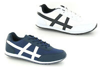 Mens Gym Running Jogger Lace Sports Walking Casual Trainers Shoes Size 6-11