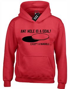 ANY HOLE IS A GOAL HOODY HOODIE ADULT SEX JOKE PUB PARTY STAG SLOGAN