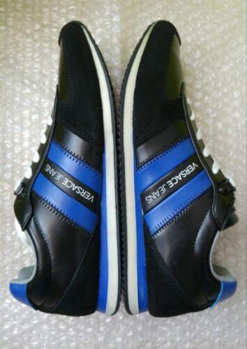 Bleu Taille Homme Versace Noir Eu 5uk 8 Sneakers et 43 Jeans wYp11XqU