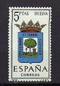A7742) Spain 1963 Scott #1067 MNH Coat Of Arms Huelva 1v