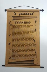 Conjuro-conxuro-da-queimada-orujo-gallego-Galicia-de-tela-enrollable