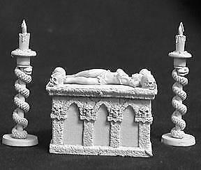 Altar of Evil w//Victim Reaper Miniatures 02580