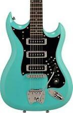 "HAGSTROM H III ELECTRIC GUITAR - AGED SKY BLUE - 3 PICKUP W /""FREE GIG BAG"" - H3"