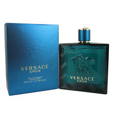 Versace Eros by Gianni Versace Eau De Toilette Cologne for Men 6.7 OZ 200 ML