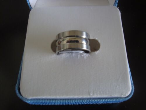 Details about  /Stainless Steele Band Ring  ~ Style #4 ~ Size 7.5