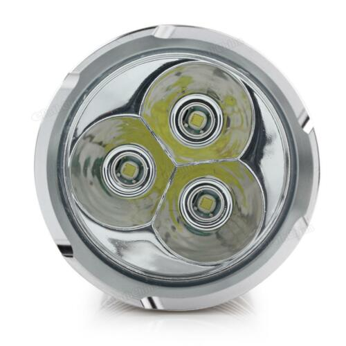 32000LM SKYRAY 12 x CREE XM-L T6 LED Flashlight Torch 4 x 18650 Hunting Lamp US