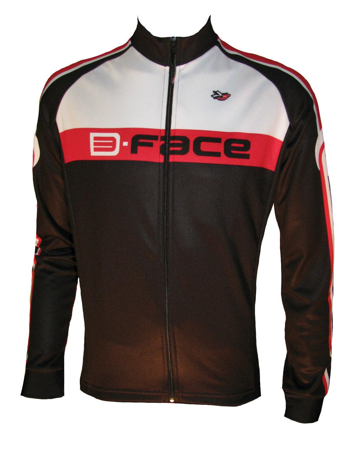 Maglia manica lunga ciclismo ciclismo lunga termica traspirante giacca leggera rosso autunno 3f1b51